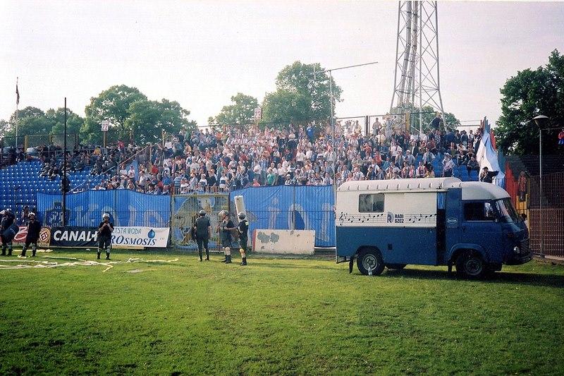 Pogoń - Lech 9.05.1998 2