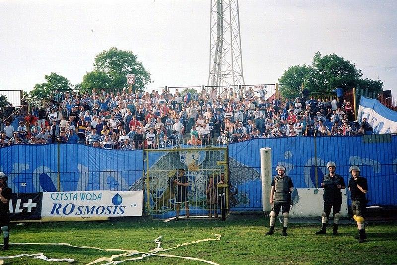 Pogoń - Lech 9.05.1998 3