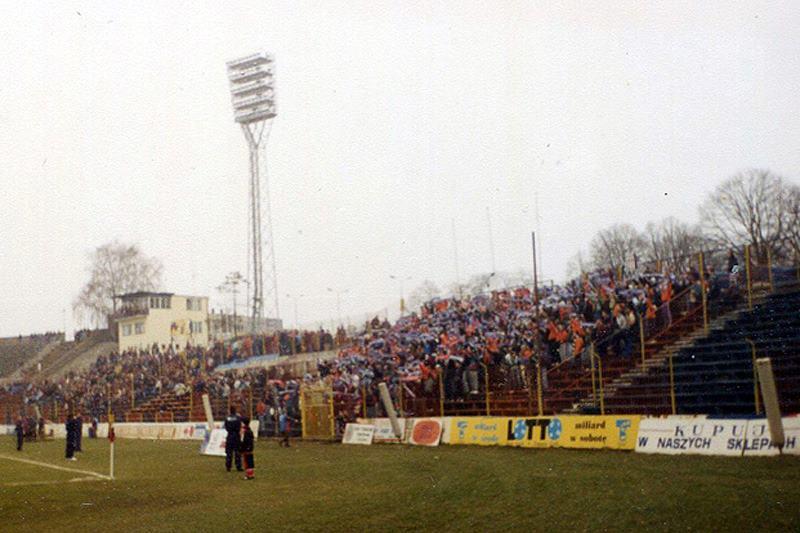 Pogoń - Lech11.03.1995