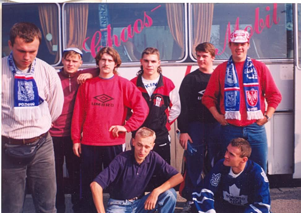 Słowacja - Polska (Bratysława) 11.10.1995