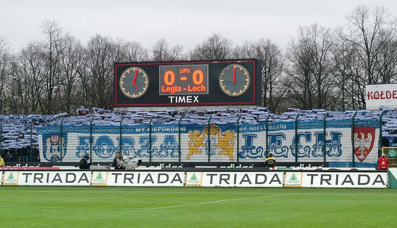 Legia - Lech, 12.04. 2008 (2)