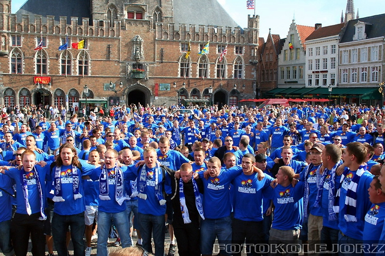 Club Brugge KV - Lech Poznań, 27.08. 2009 (11)