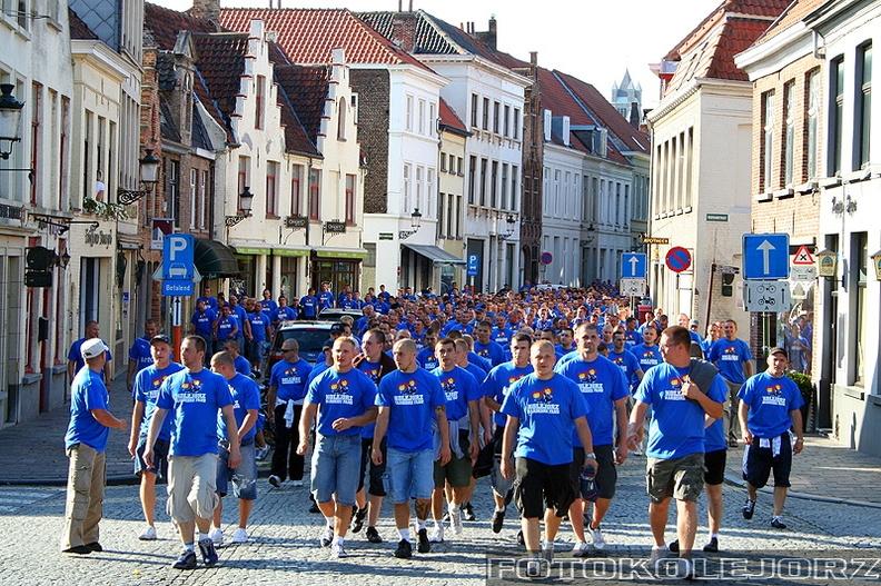 Club Brugge KV - Lech Poznań, 27.08. 2009 (12)