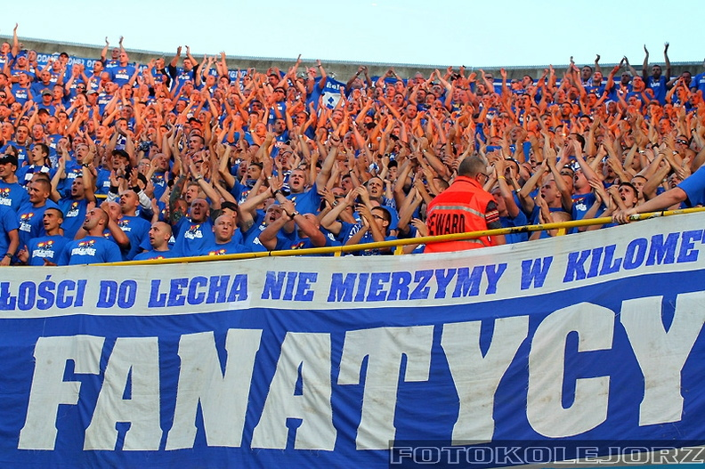 Club Brugge KV - Lech Poznań, 27.08. 2009 (13)