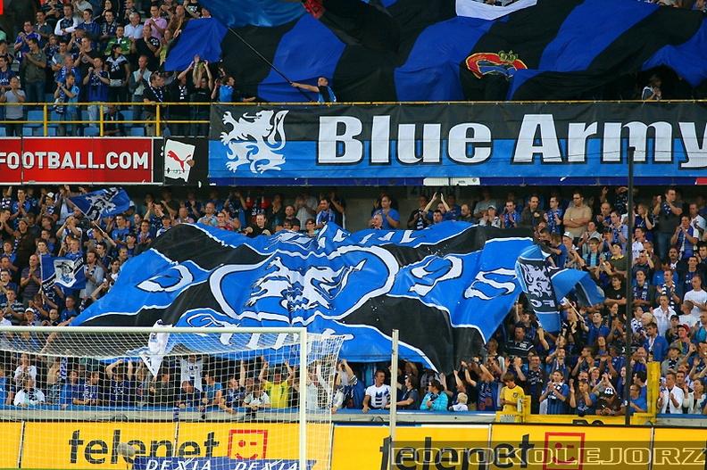 Club Brugge KV - Lech Poznań, 27.08. 2009 (14)