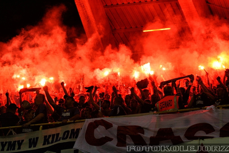 Club Brugge KV - Lech Poznań, 27.08. 2009 (16)