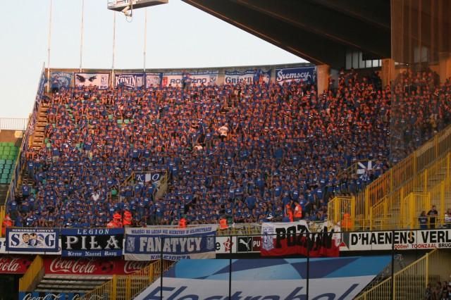 Club Brugge KV - Lech Poznań, 27.08. 2009 (2)