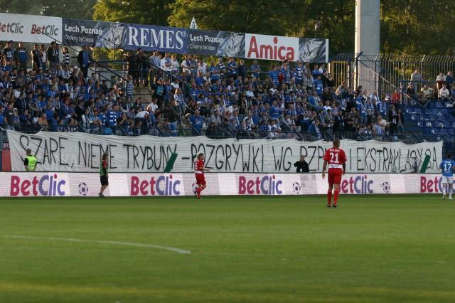 Lech - Odra Wodzisław, 19.09. 2009
