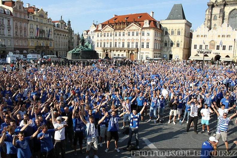 Sparta Praga - Lech Poznań, 27.07. 2010 (10)