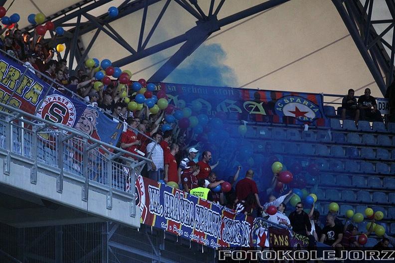 Lech - Sparta Praga, 4.08. 2010 (6)