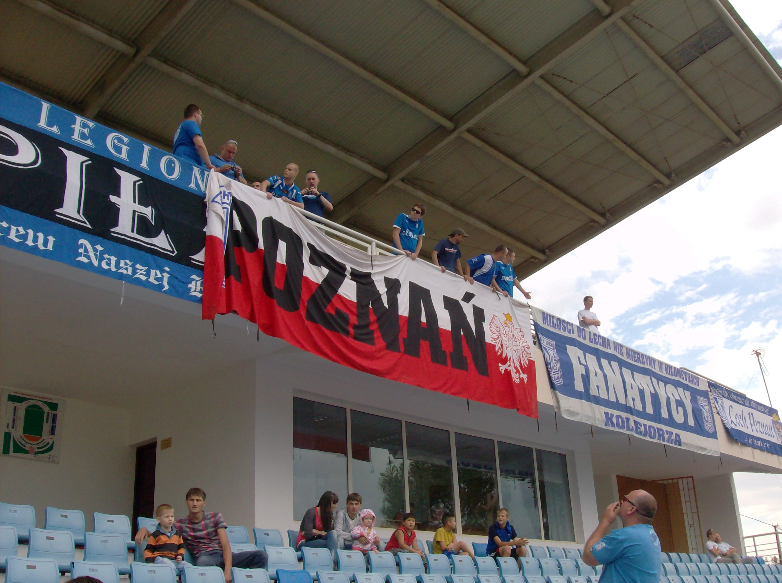 Żetysu Tałdykorgan - Lech Poznań, 12.07. 2012 (2)