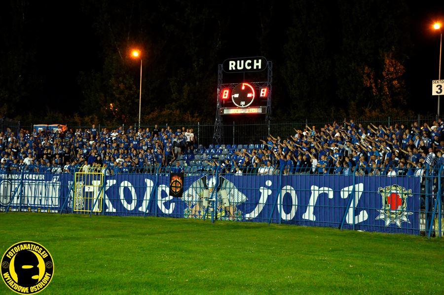 Ruch - Lech 21.07. 2013 (1)