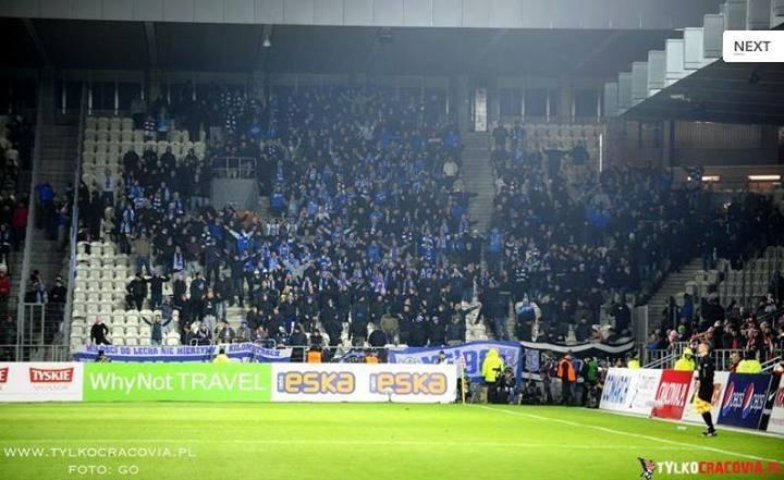 Cracovia - Lech, 25.11.2013