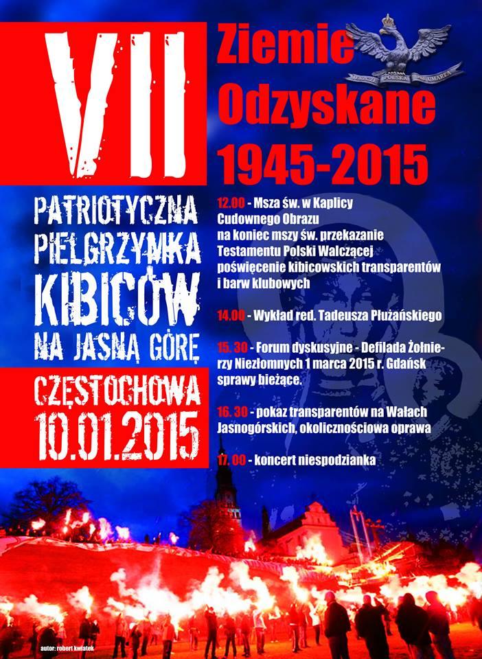 VII Patriotyczna Pielgrzymka Kibiców 10.01 (1)