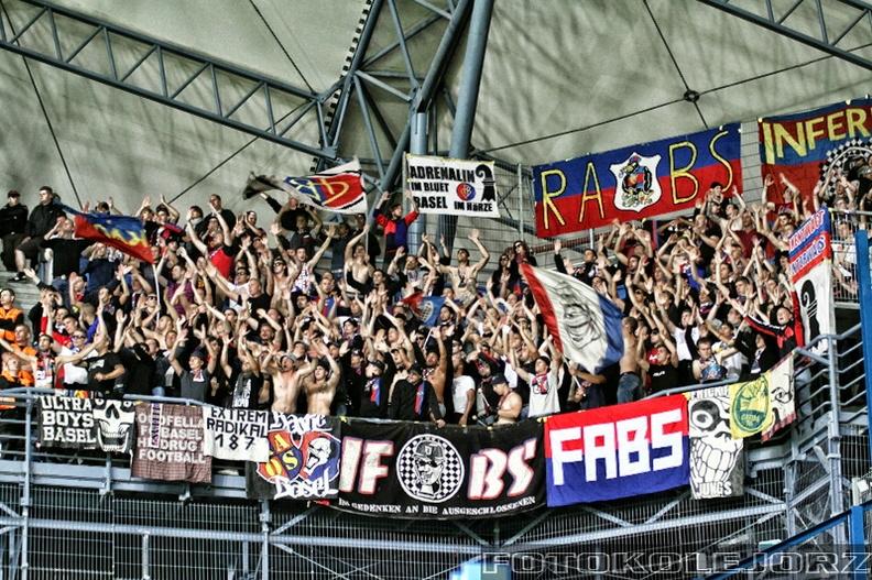LM Lech - FC Basel, 29.07. 2015 (2)