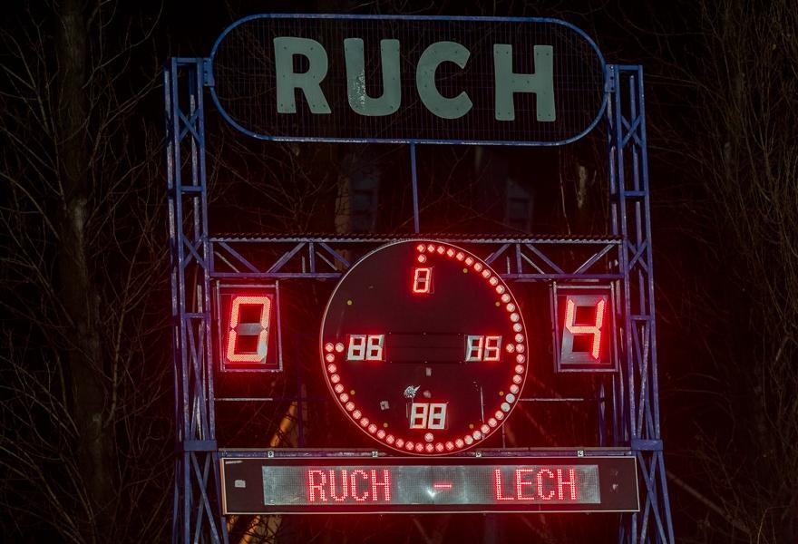 Ruch - Lech 24.02. 2013 (1)