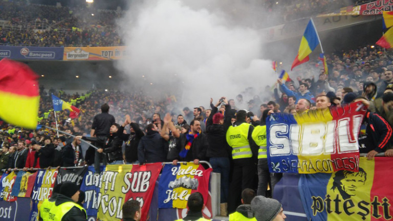 Rumunia - Polska, 11.11. 2016 (1)