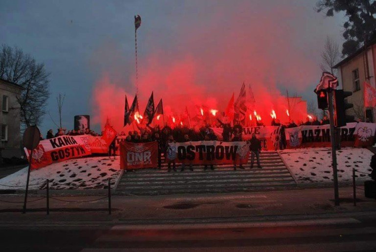 VII Marsz Zwycięstwa, Ostrów Wlkp., 11.02. 2017 (5)